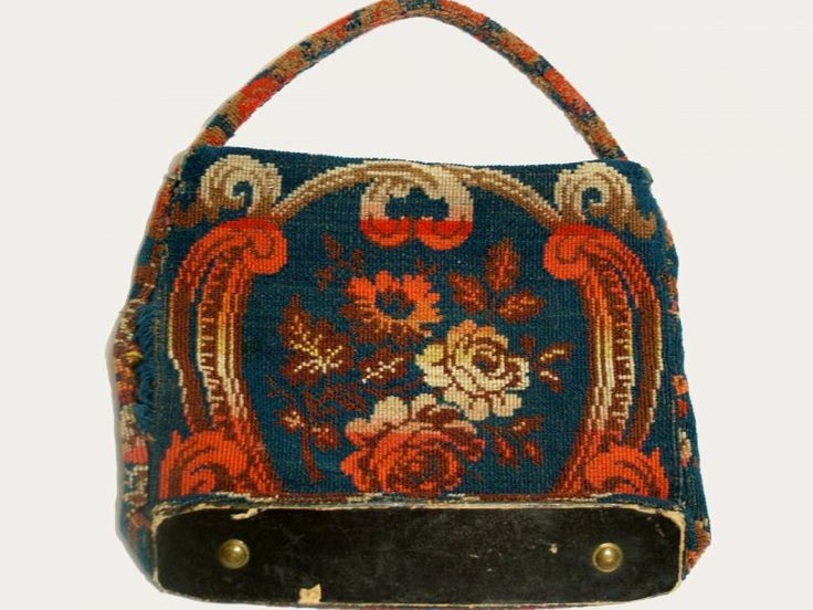 """Antique Civil War Carpet Bag with key measures 15.5"""" wide and 12"""" tall. Very good used condition. Both seams on one side are loose and the carpet is frayed. Also along the top flap above the key area is some fraying. The inside is stamped what I believe reads: L. H. Abienhorn, Co. I, 12th Regt. N.H.V."""