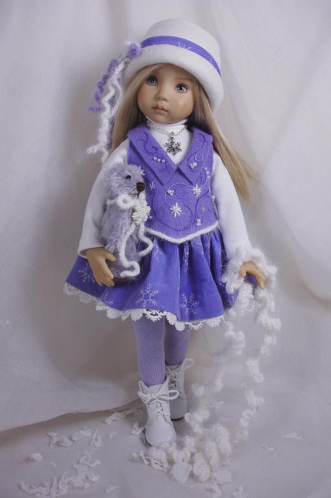 ❤️Dianna Effner Doll ~ Chance of Flurries for the Effner Little Darlings