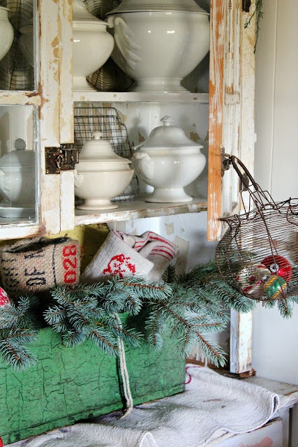Estilo Shabby Chic Decoracion Interiores ~ 1000+ images about Christmas Inspired on Pinterest  Old school