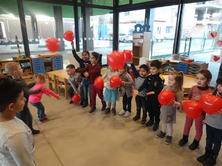 Welkom op de blog van kleuterschool Tichelrij: Verliefd