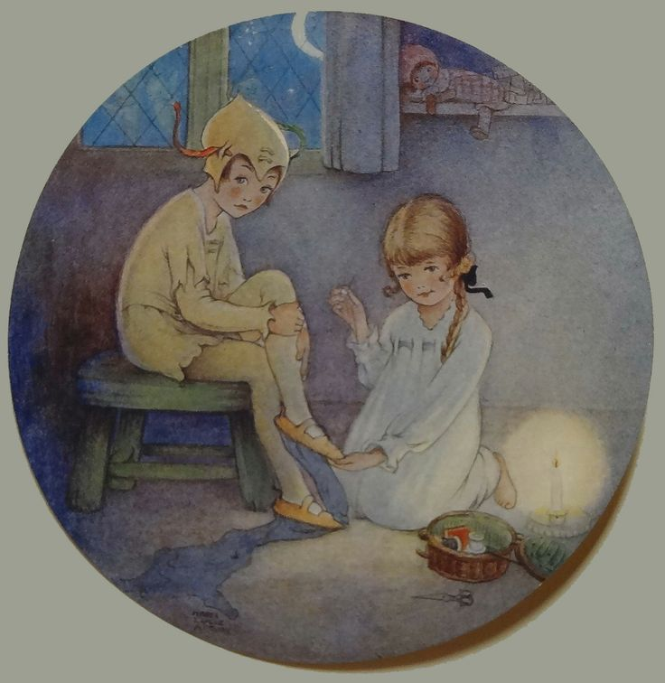 James Matthew Barrie, Peter Pan and Wendy, s.a. Impreso. Primera edición.
