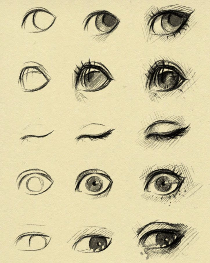 eyes reference 2 by ryky on DeviantArt via cgpin.com