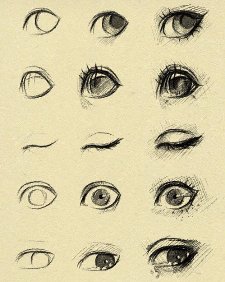 eyes reference 2 by ryky.deviantart.com on @DeviantArt