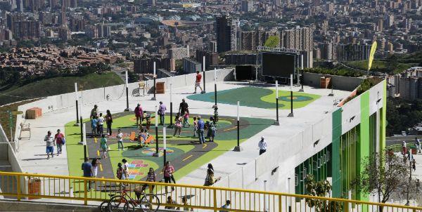Foto: Jhon Alexander Chica Yara   Las UVA fueron reconocidas como estrategia de la transformación social en Medellín.