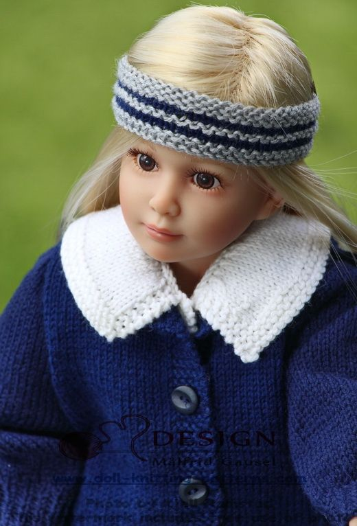 Knitting Patterns For 13 Inch Dolls : 85 best Doll clothes images on Pinterest Girl doll ...