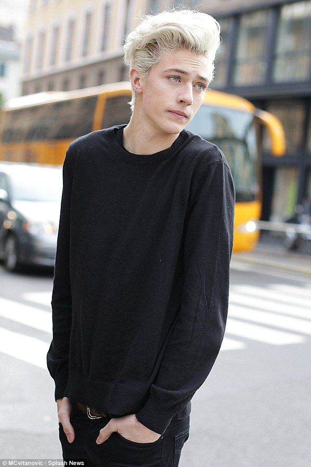 Standing at 6ft-3in with piercing blue eyes, it's not hard to see why the Mormon male model Lucky Blue Smith has more than 800,000 Instagram followers