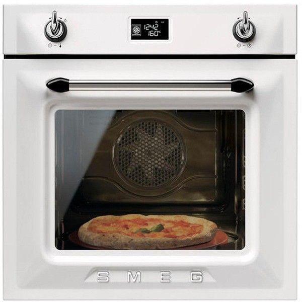 Smeg Sf6922Bpze Victoria 60Cm Built-In Single Electric Oven ($810) ❤ liked on Polyvore featuring home, home improvement and household appliances