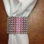 Blinged out wedding napkin ring idea So I saw online the idea of making wedding napkin rings from toilet paper rolls so I decided to try with my own personal style. I love bling and I also love natural fabrics. So below are the instructions for this wedding napkin ring as shown above: 1. …Continue reading...