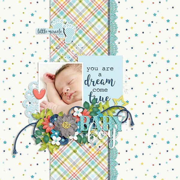 baby boy - Digi Bundle Of Joy - Boy