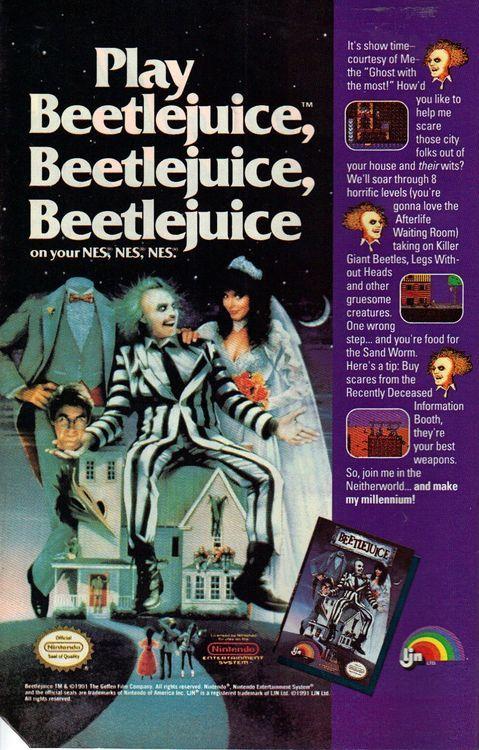 Play Beetlejuice, Beetlejuice, Beetle--
