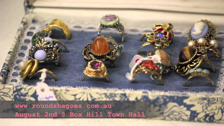 Round She Goes Fashion Market Box Hill August 2015