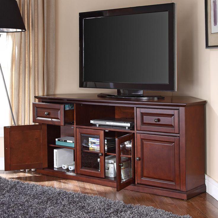 30 best tv stands * images on pinterest | corner tv stands, black