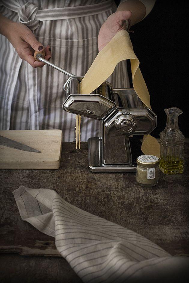 Como hacer pasta fresca en casa con imágenes del paso a paso.