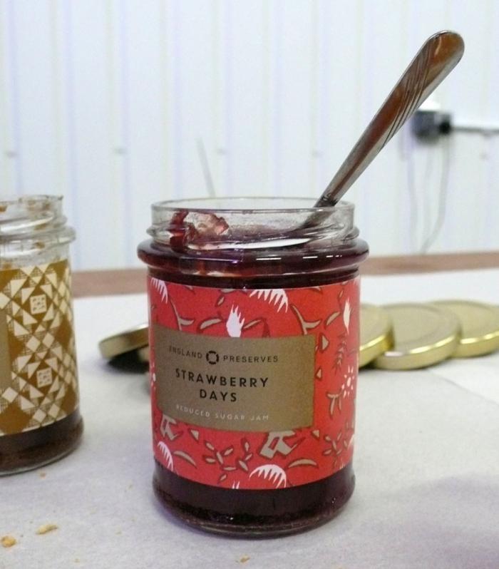Nice jam packaging