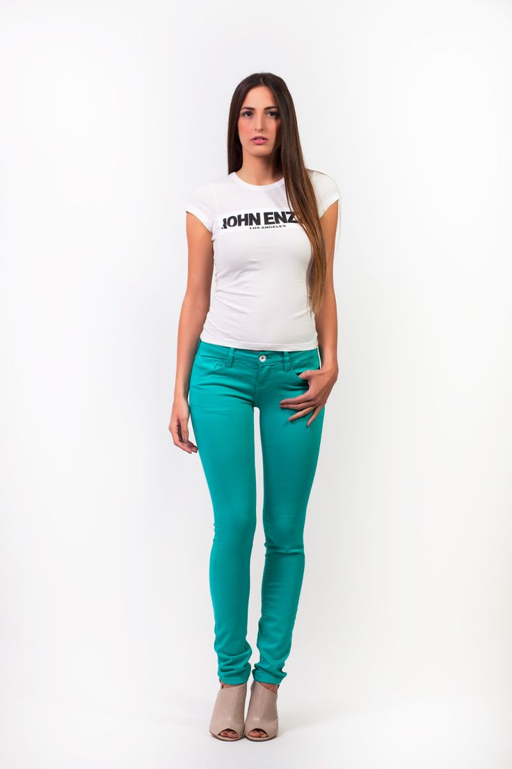 super stretch seagreen pants