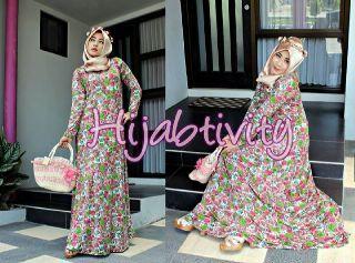 Marina Dress..Bhn: JERSEY PREMIUM High Quality. LD s/d 110cm. Tanpa Pashmina yaa.... @184rb  yfd05