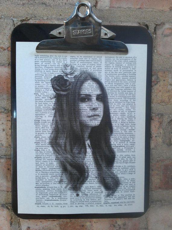 Lana Del Rey Portrait Print by Ang3lb0y on Etsy, $6.00