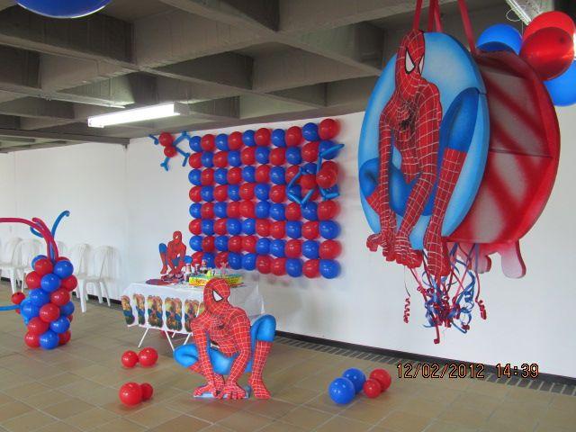 fiesta tematica hombre araa spiderman fiestas tematicas cumpleaos