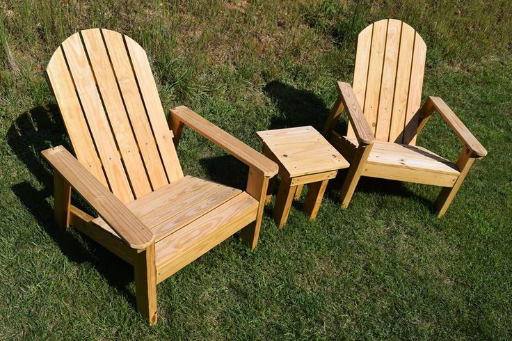 2x4 Adirondack Chair Plans (Ana's Favorite) Outdoor