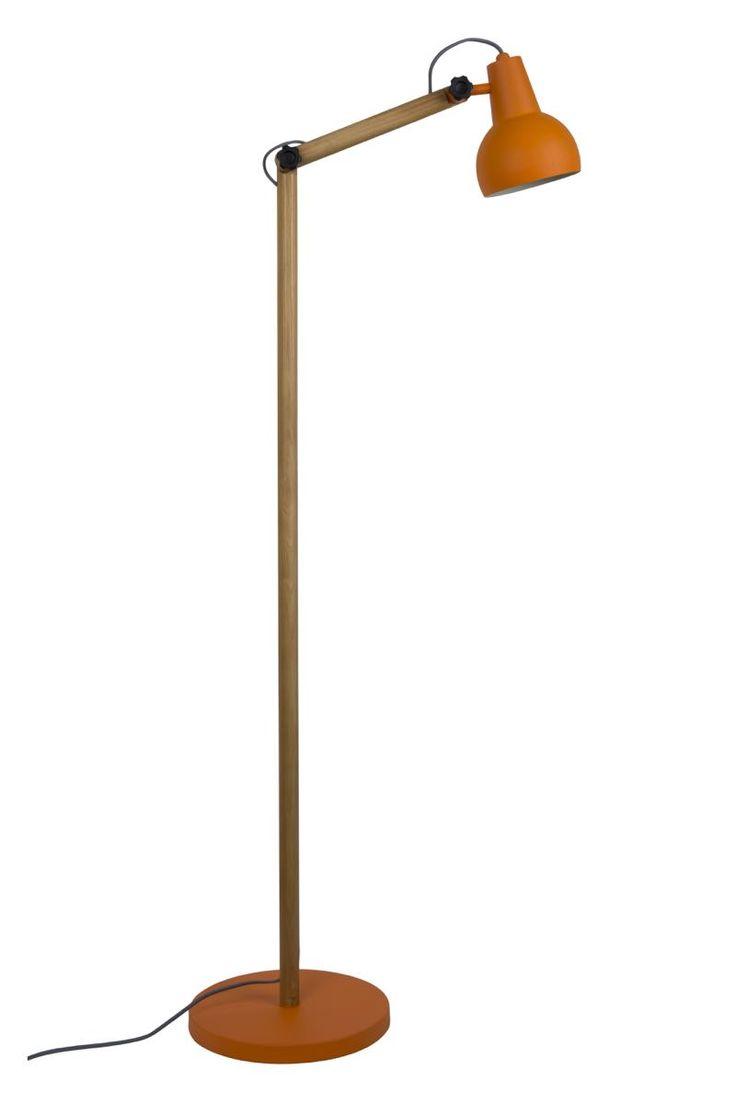 Lampadar modern din lemn de stejar model Study