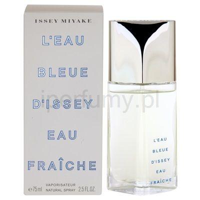 Issey Miyake L'Eau D'Issey Blue Pour Homme Fraiche, woda toaletowa dla mężczyzn 75 ml   iperfumy.pl