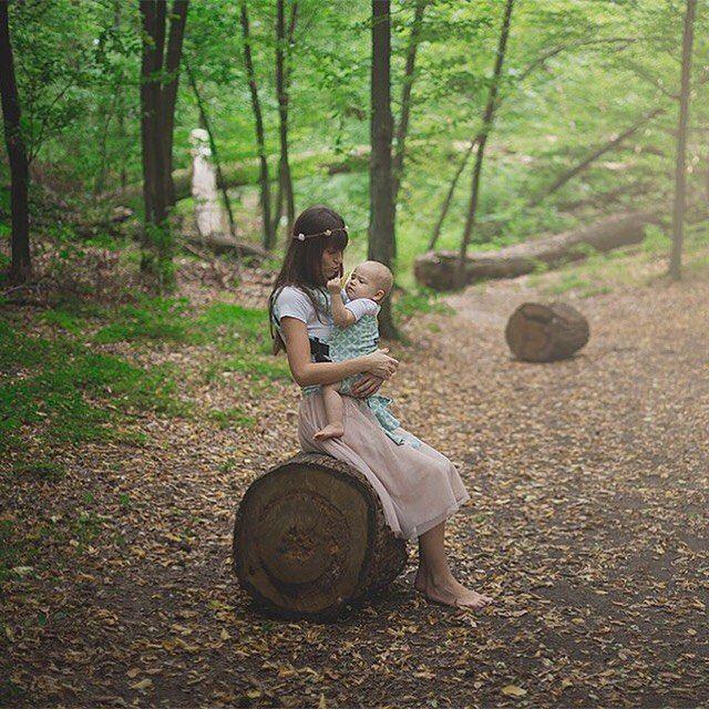 WOMAR Zaffiro Joy babycarrier - nosidełko ergonomiczne. Cudowna sesja zdjęciowa matki z dzieckiem