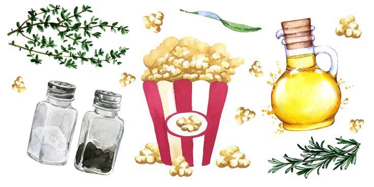 12 façons de pimper son popcorn