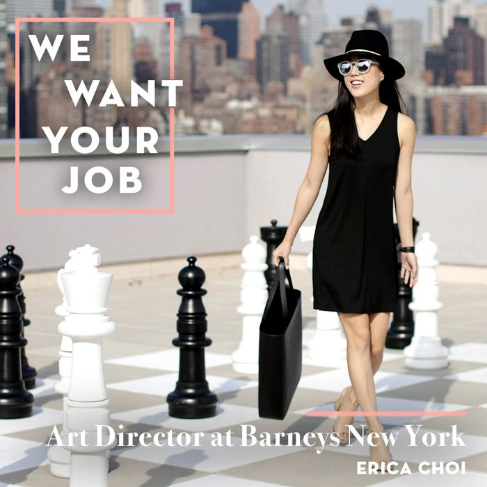 What it's like to be the Art Director of Barneys NY