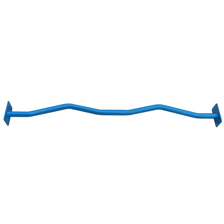 Ultimate Body Press Outdoor Pull Up Bar, Curved. 4 ft. Ergonomic Curved Pull Up Bar. Galvanized steel with powder coat finish. 1.25 diameter tubing. Designed to be installed on 4x4, 4x6 or 6x6 posts. Hardware included.