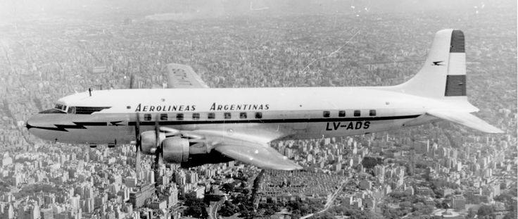 1950 - Fundación de Aerolíneas Argentinas.