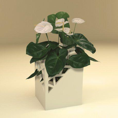 Maceta en impresión 3d, ideal para sembrar flores o plantas trepadoras. Esta maceta tiene unas aperturas que van a permitir al crecimiento de las plantas adaptarse a ellas con gran facilidad. Le dará gran estilo a los espacios. Por su forma y diseño puede ser ubicada en cualquier espacio. Lo orificios que esta tiene pueden ser modificados.  Recuerda que tu haces parte de la construcción de estos objetos y puedes modificar este diseño en compañía de uno de nuestros diseñadores.