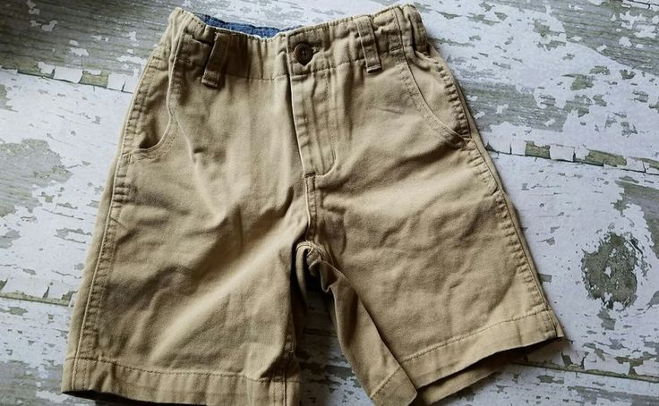 OshKosh Boy Khaki Cargo Shorts Size 5 #OshKoshBgosh #Shorts #DressyEveryday