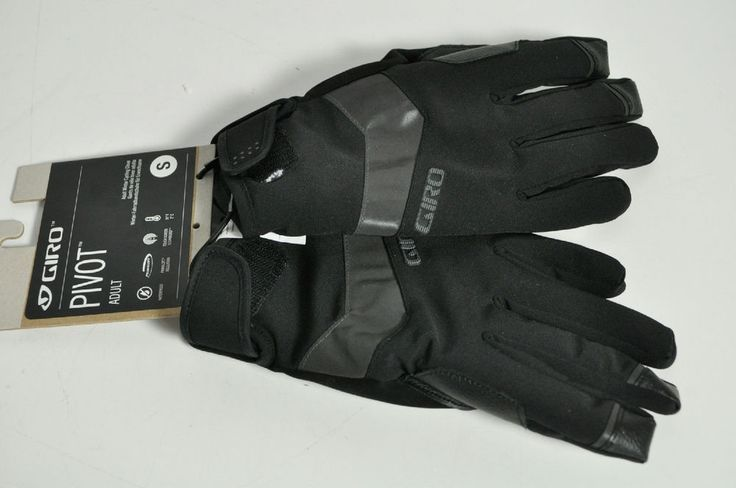 Giro Pivot Black Small Adult Size Winter Motorcycle Gloves #Giro #WinterGloves
