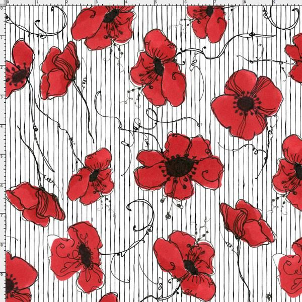 16 best Fabric images on Pinterest | Poppies, Garten and House gardens
