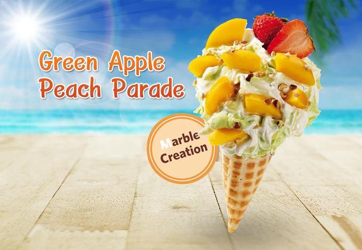 """หวานเข้ม กลมกล่อม """"ครีเอท"""" ความอร่อยได้ทุกสไตล์ กับไอศกรีม """"Creation"""" เลือก 4 รสชาติ Strawberry Banana Surprise, Green Apple Peach Parade ฯลฯ"""