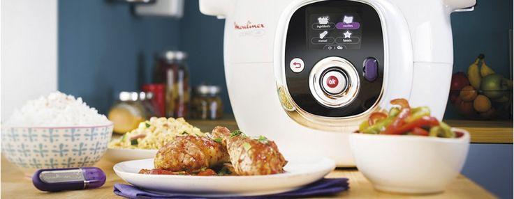 Recetas cocinadas con el robot de cocina cookeo de - Robot de cocina moulinex carrefour ...