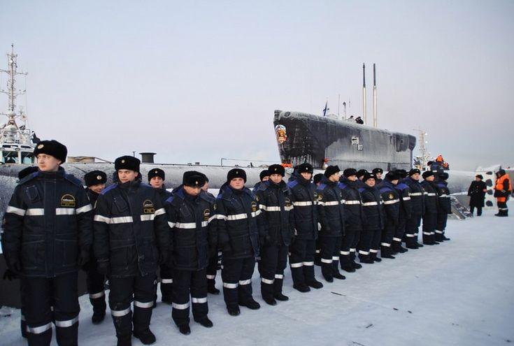 Russian nuclear Submarines in Gadzhievo, Russia