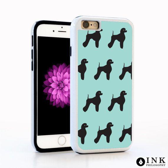 Phone Case Blue Poodle / TPU iPhone SE Case iPhone 6 Florals iPhone 6S Plus Case iPhone 5s Galaxy s5 Galaxy s6