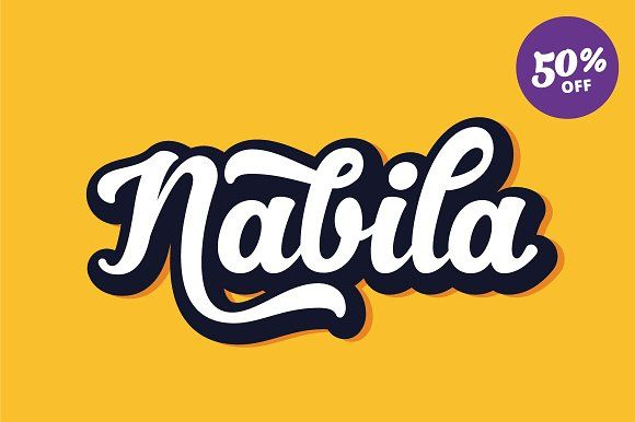 Nabila (50% Off) by artimasa on @creativemarket