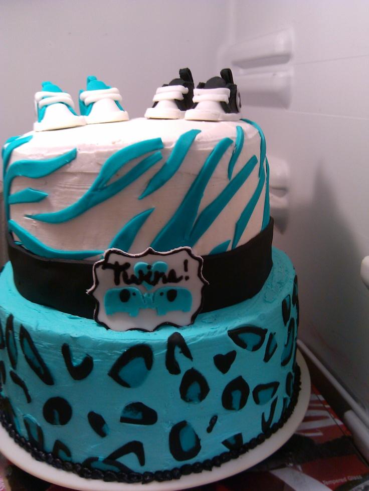 blue safari baby shower cake baby shower ideas pinterest blue