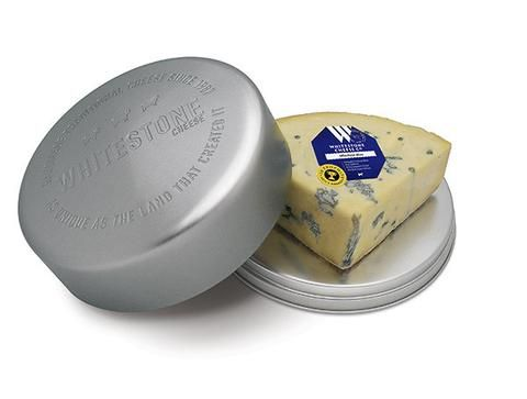 Cheese Tin with Windsor Blue - great for giving or serving up on Christmas day