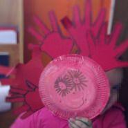 Ήλιος με πιατάκι και παλάμες | Ανδρονίκη, η νηπιαγωγός.