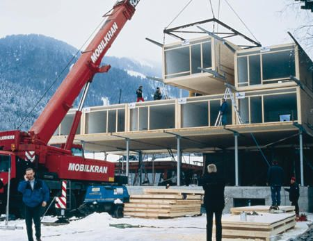 Anbau Hotel Post - proHolz Austria