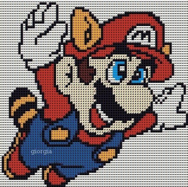 "Delicado Cantinho: Gráficos Ponto Cruz ""Super Mario"" | grille point de croix varier | Pinterest ..."