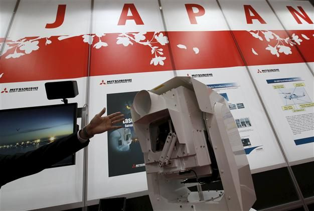 Mitsubishi Heavy Industries Ltd would consider investing in nuclear company Areva , which is being bailed out by the French government, the president of the Japanese company told the Asahi newspaper.
