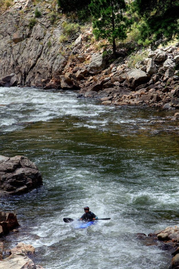 Slightly more difficult kayaking? Why not give the Poudre River a go? | 24 Reasons Fort Collins, Colorado Is The Greatest City On Earth
