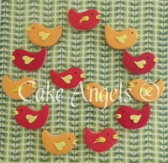 More Cute Bird Cookies