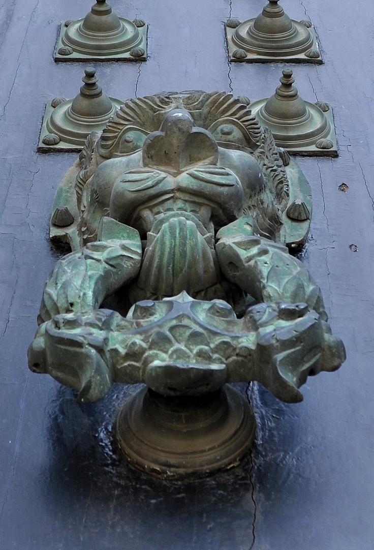Santiago de Compostela - doorknocker