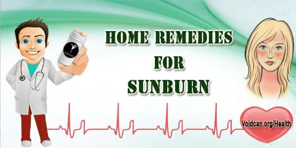 Voidcan.org shares with you simple and easy home remedies for sunburn.