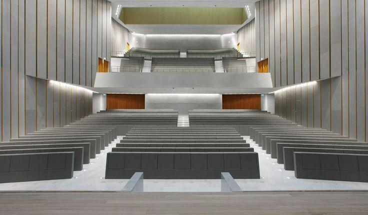 Aula Magna - Bocconi University - Milan  @radio24news